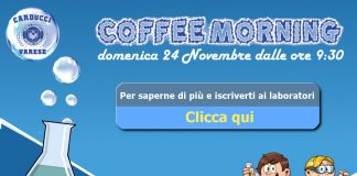 Coffee Morning alla carducci